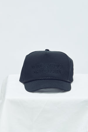 Make America Skate Again Hat Black/Black