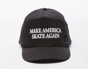Copy of Make America Skate Again Hat - Black/White