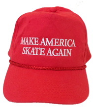 Make America Skate Again Hat - Red