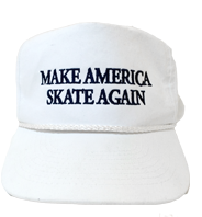 Make America Skate Again Hat - White/Blue