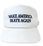 Make America Skate Again Hat - White/Navy
