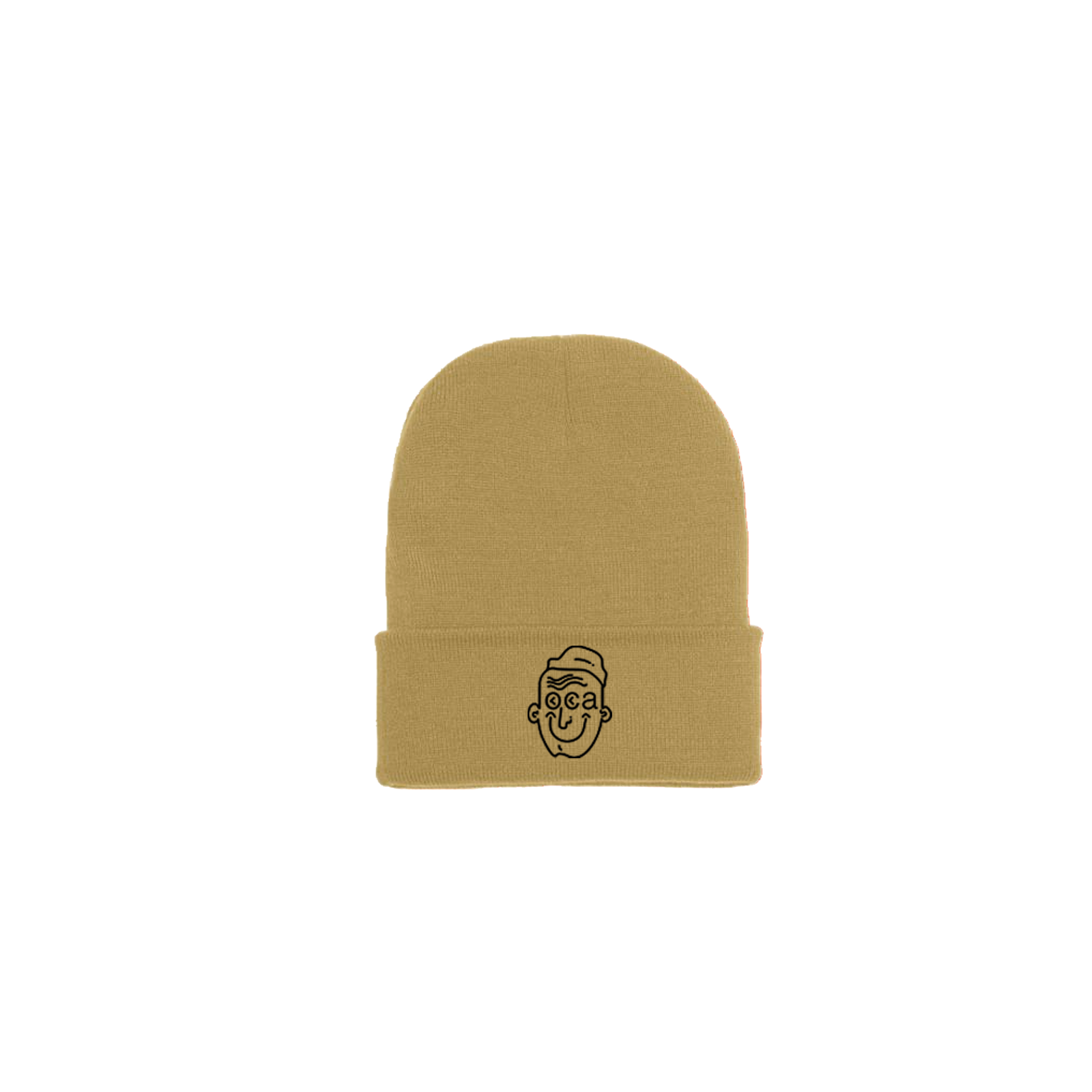 Good Things Double Fold Mustard Beanie