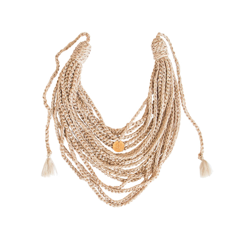 Multicadenas Doble  Necklace - Daniela Bustos Maya