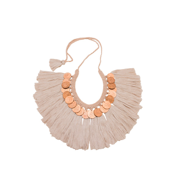 Escamas y Plumas Big Necklace - Daniela Bustos Maya
