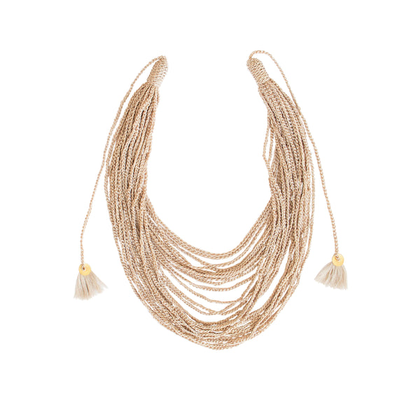Multicadenas Simple  Necklace - Daniela Bustos Maya