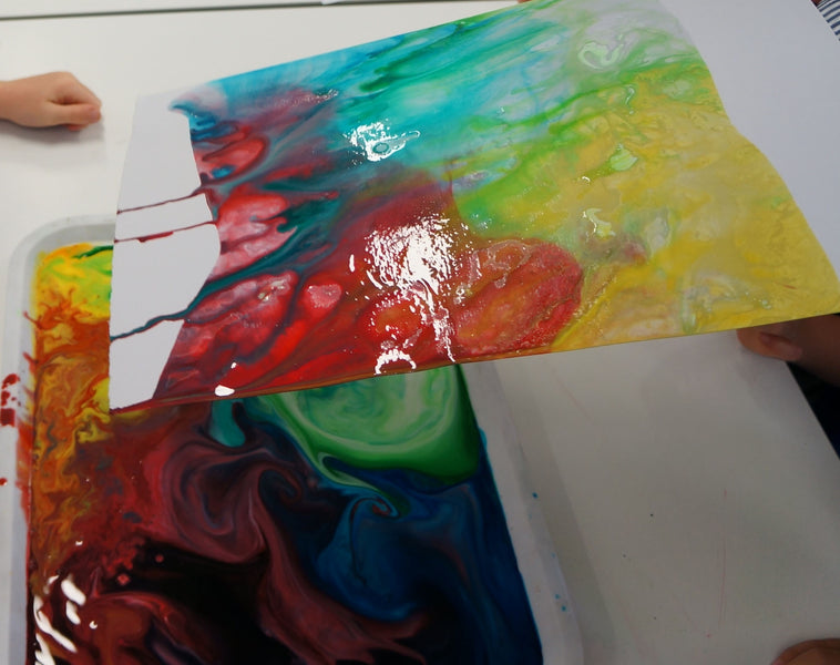 When Science meets Art - Art Class