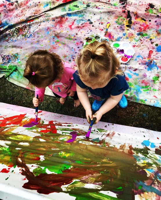 17th May - Toddler Sensory / Budding Artists - Casual Sibling Discount