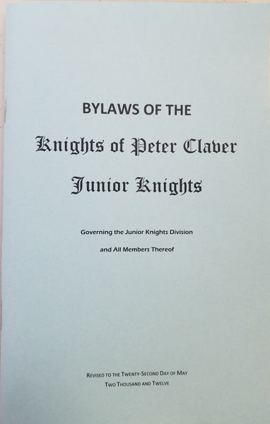 Junior Knights Constitution/Handbook