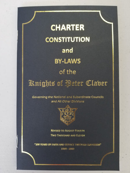 Constitution Book - Knights