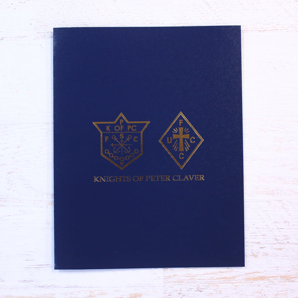 Knights and Ladies Presentation Folder