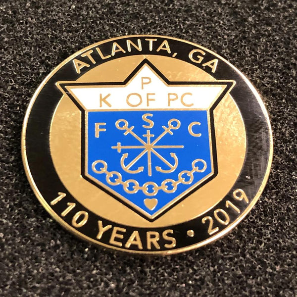 110th Anniversary Pin