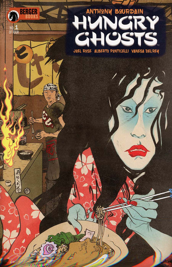 HUNGRY GHOSTS Comic Books
