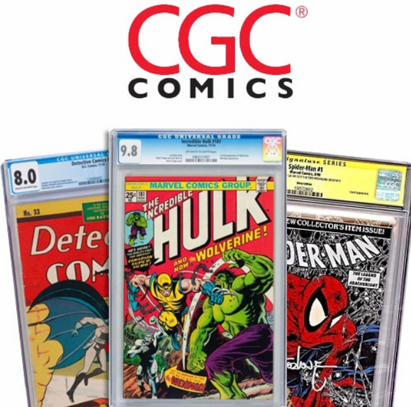 CGC Graded Comic Books