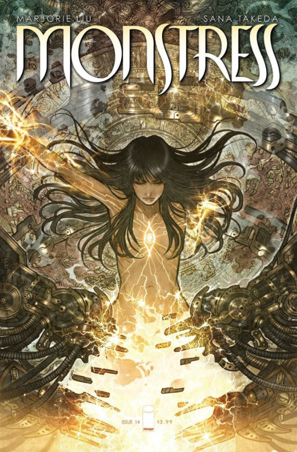 MONSTRESS Comic Books