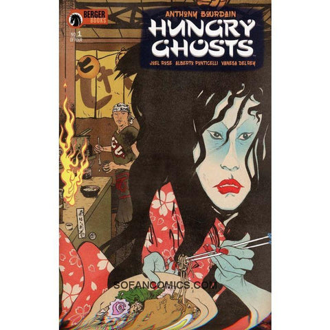 Hungry Ghosts comic books Paul Pope