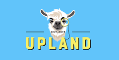 upland game logo theme colors