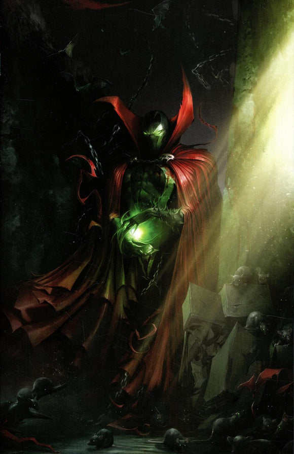 Spawn #291 B Francesco Mattina Color Virgin 1St Print Vf+/nm+ Comic