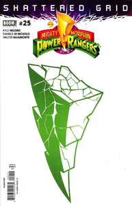 Mighty Morphin Power Rangers #25 S Montes Vf+/nm+ 2Nd Print Comic