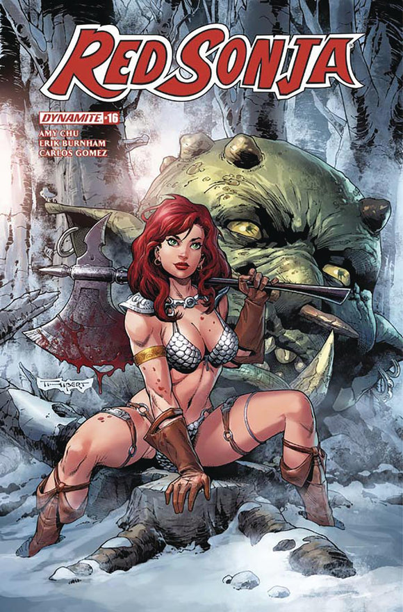 Red Sonja #16 C Art Thibert Variant Vf+/nm+ Comic