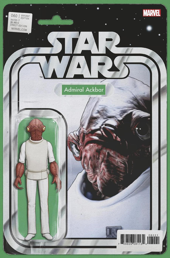 Star Wars #60 B John Tyler Christopher Variant Admiral Ackbar Vf+/nm+ Comic