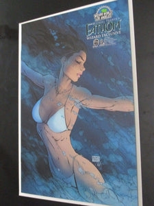 Fathom Vol 2 #8 B Wwla Exclusive Turner Cover 2006 Vf+/nm+ Rare Comic