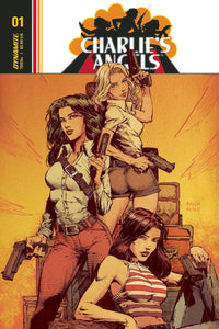 Charlies Angels #1 A Regular David Finch & Jimmy Reyes Cover Vf+/nm+ Comic