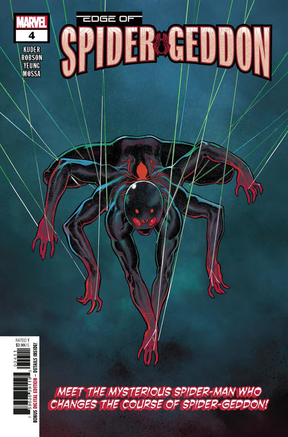 Edge Of Spider Geddon #4 A Aaron Kuder Cover Vf+/nm+ 1St Print Comic