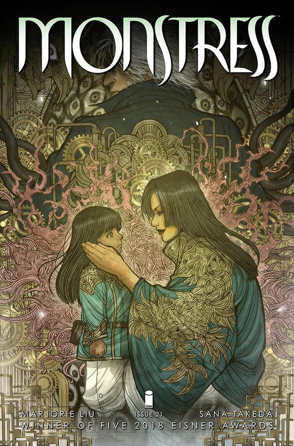 Monstress #21 Sana Takeda Vf+/nm+ 1St Print Comic