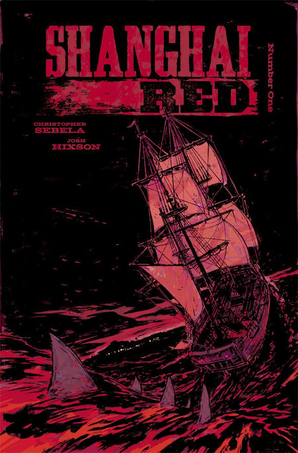 Shanghai Red #1 A Hixson & Hassan Vf+/nm+ Comic