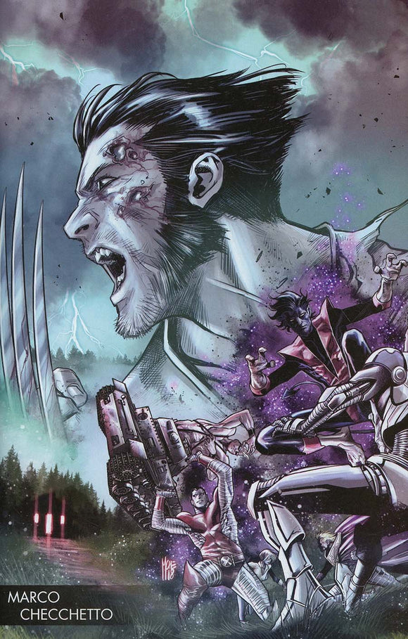 Hunt For Wolverine #1 B Marco Checchetto Young Guns Variant Vf+/nm+ Comic