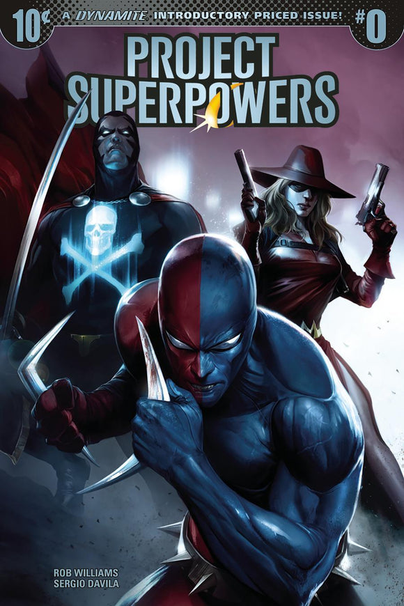 Project Superpowers #0 A Francesco Mattina 1St Print Vf+/nm+ Comic