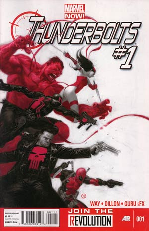Thunderbolts #1 A Julian Totino Tedesco VF+/NM+