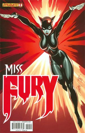 Miss Fury #1 B Regular J Scott Campbell variant VF+/NM+