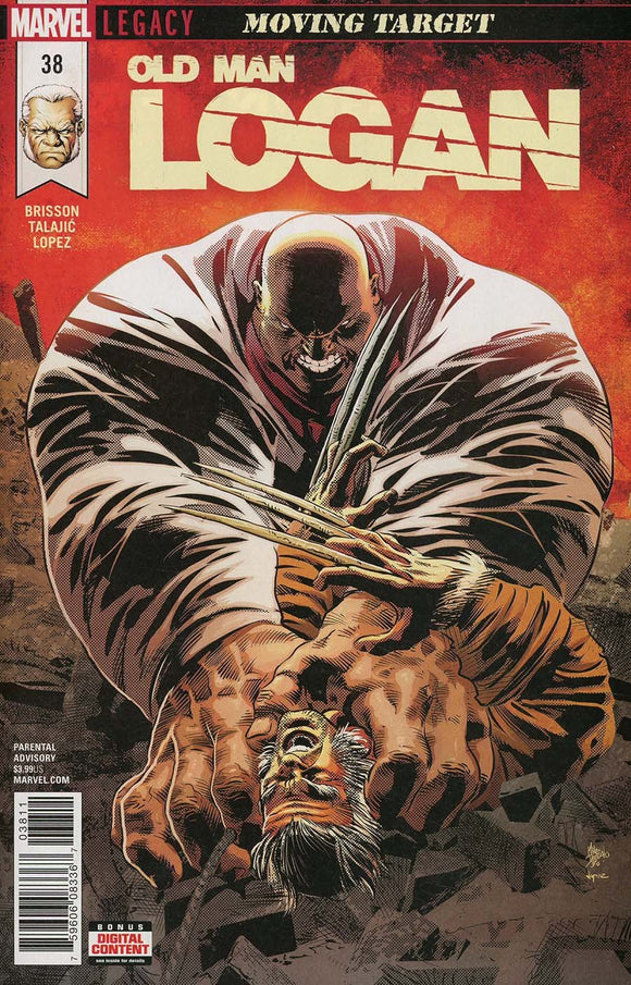 Old Man Logan #38 A 1St Print Mike Deodato Vf+/nm+ Comic