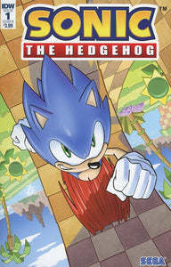 Sonic The Hedgehog #1 B Tracy Yardley Variant Nm Rare Comic