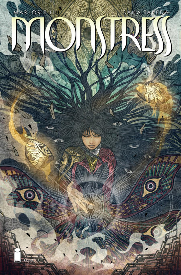 Monstress #18 Sana Takeda Vf+/nm+ 1St Print Comic