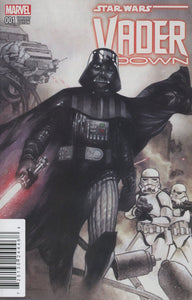 Star Wars Vader Down #1 G Df Olivier Coipel Limited To 15 000 Coa Vf+/nm+ Comic