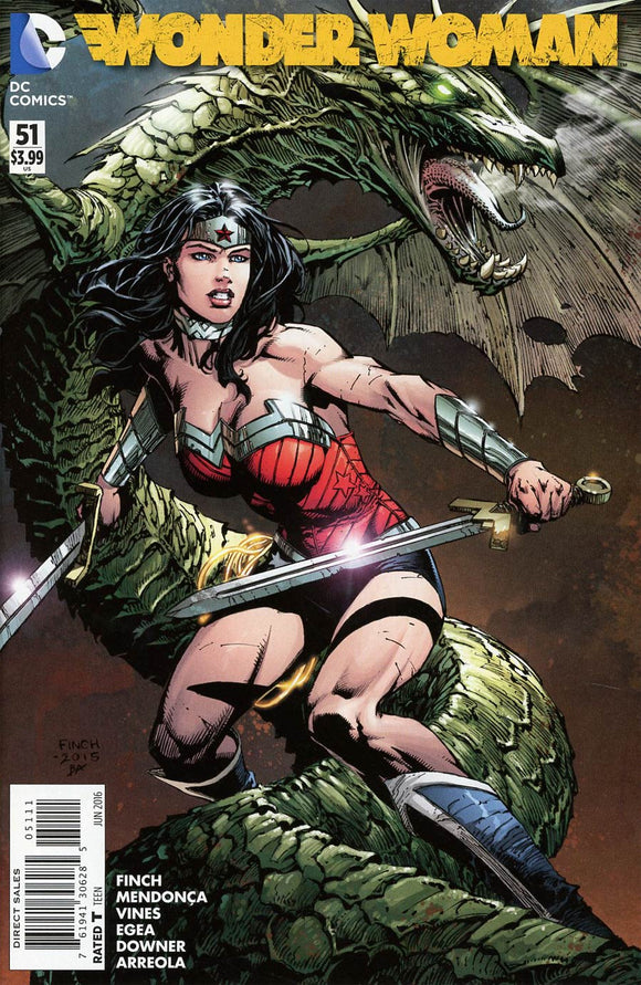 Wonder Woman #51 A David Finch NM