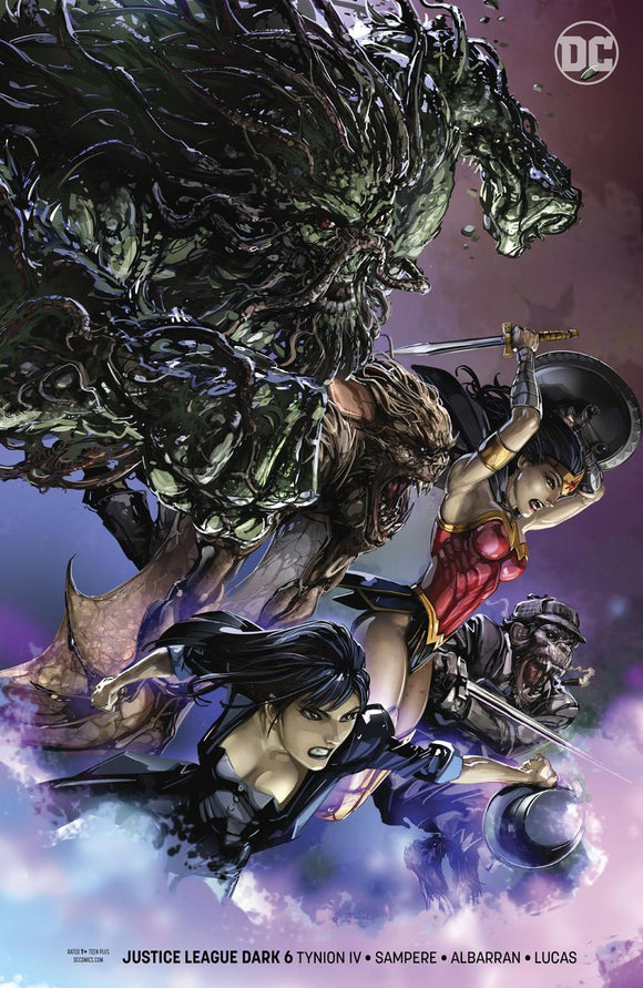 Justice League Dark #6 B Clayton Crain Variant Nm Comic