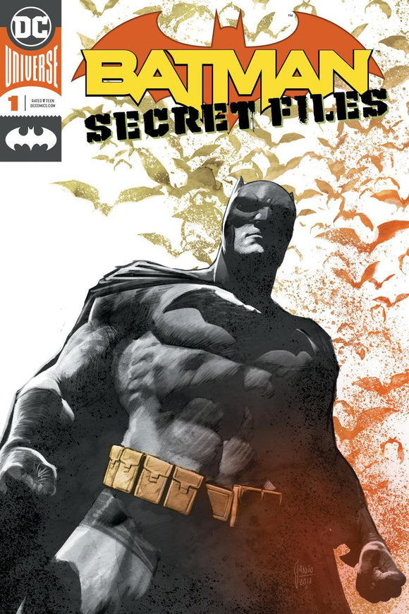 Batman Secret Files #1 A Mikel Janin Enhanced Foil Vf+/nm+ Comic
