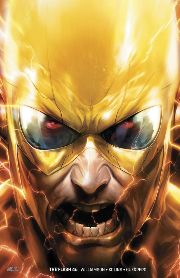 Flash #46B Francesco Mattina Variant 1St Print Vf+/nm+ Comic