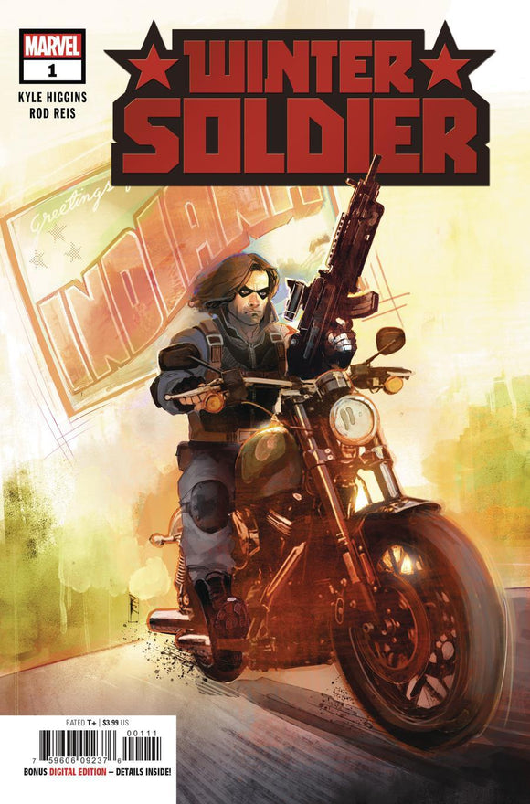 Winter Soldier #1 A Rod Reis Vf+/nm+ Comic