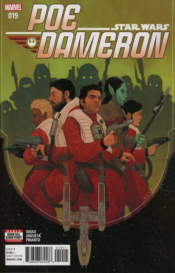 STAR WARS POE DAMERON #19 Phil Noto cover VF+/NM+