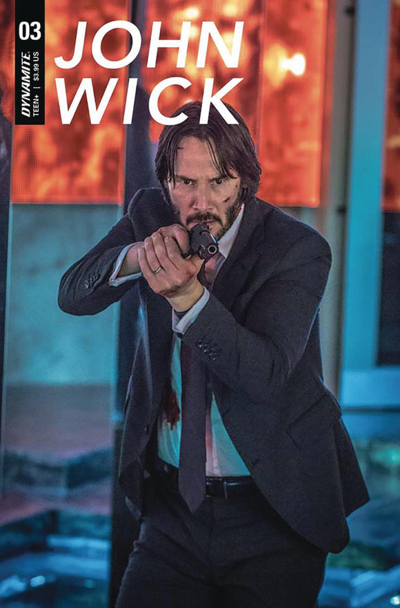 John Wick #3 C Keanu Reeves Photo Variant Vf+Nm Comic