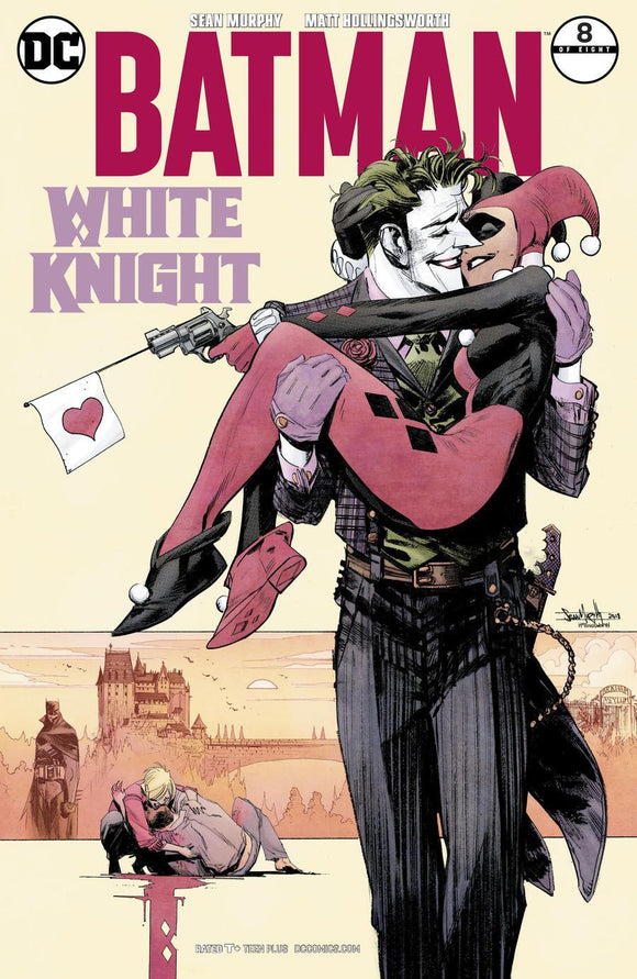 Batman White Knight #8 B 1St Print Sean Murphy Vf+/nm+ Joker Quinn Comic