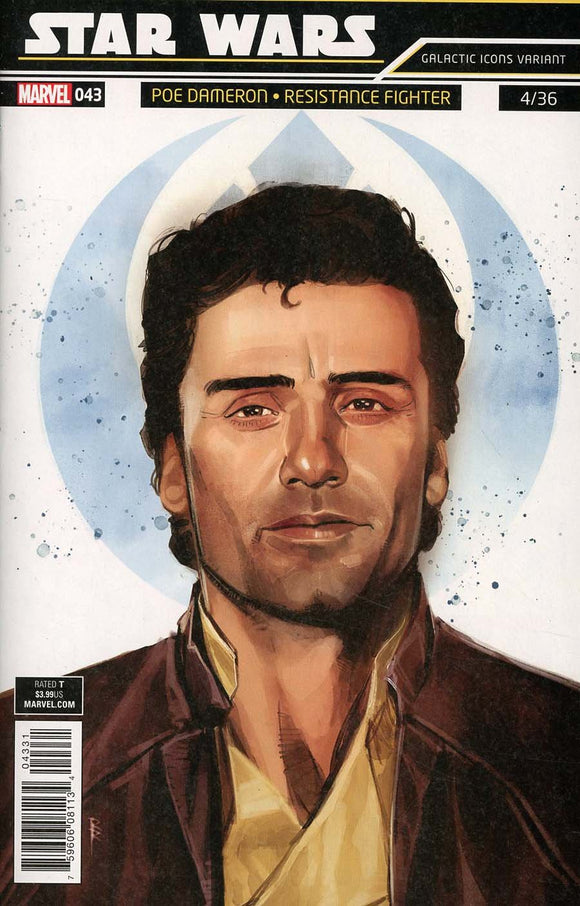 Star Wars #43 B Rod Reis Galactic Icon Variant Cover Vf+/nm+ Comic