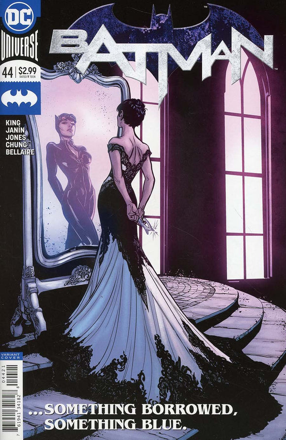 Batman #44 B Joelle Jones 1St Print Vf+/nm+ 2018 Rare Comic