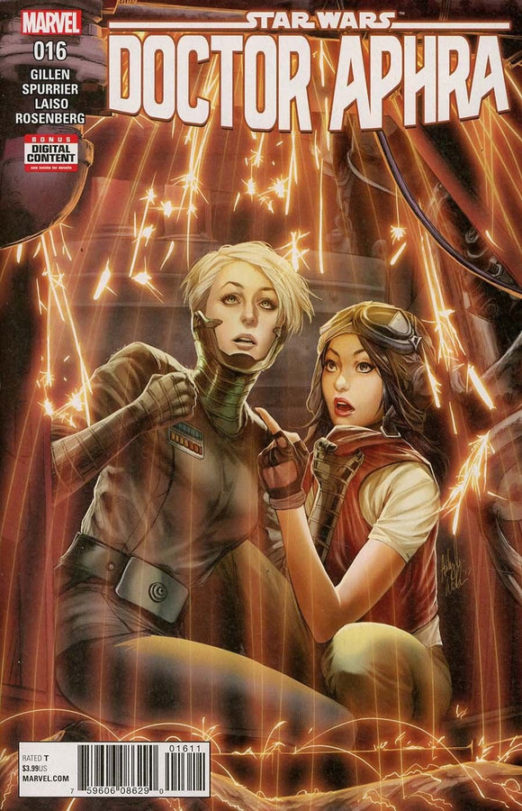 Star Wars Doctor Aphra #16 Ashley Witter Cover VF+/NM+