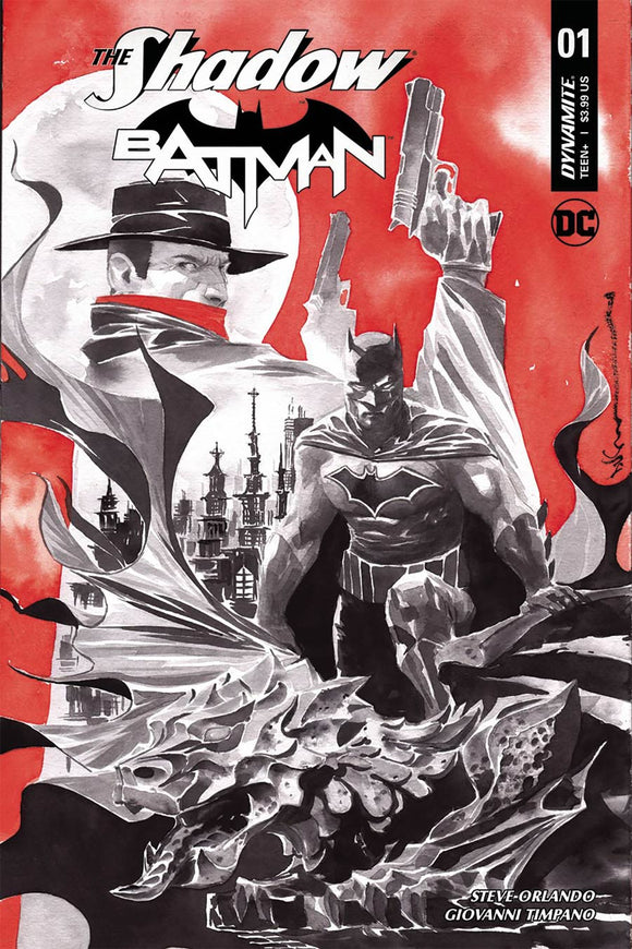The SHADOW BATMAN #1 D Dustin Nguyen Variant VF+/NM+
