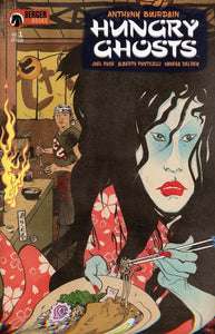 Hungry Ghosts #1 Anthony Bourdain Paul Pope Cover Vf+/nm+ Rest In Peace Comic